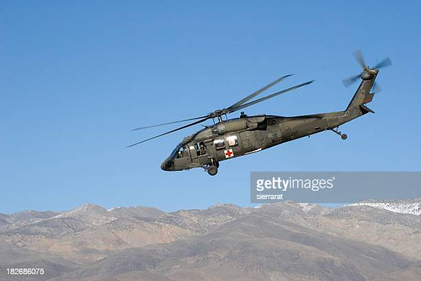 h-60 helicopter - medevac stock photos and pictures