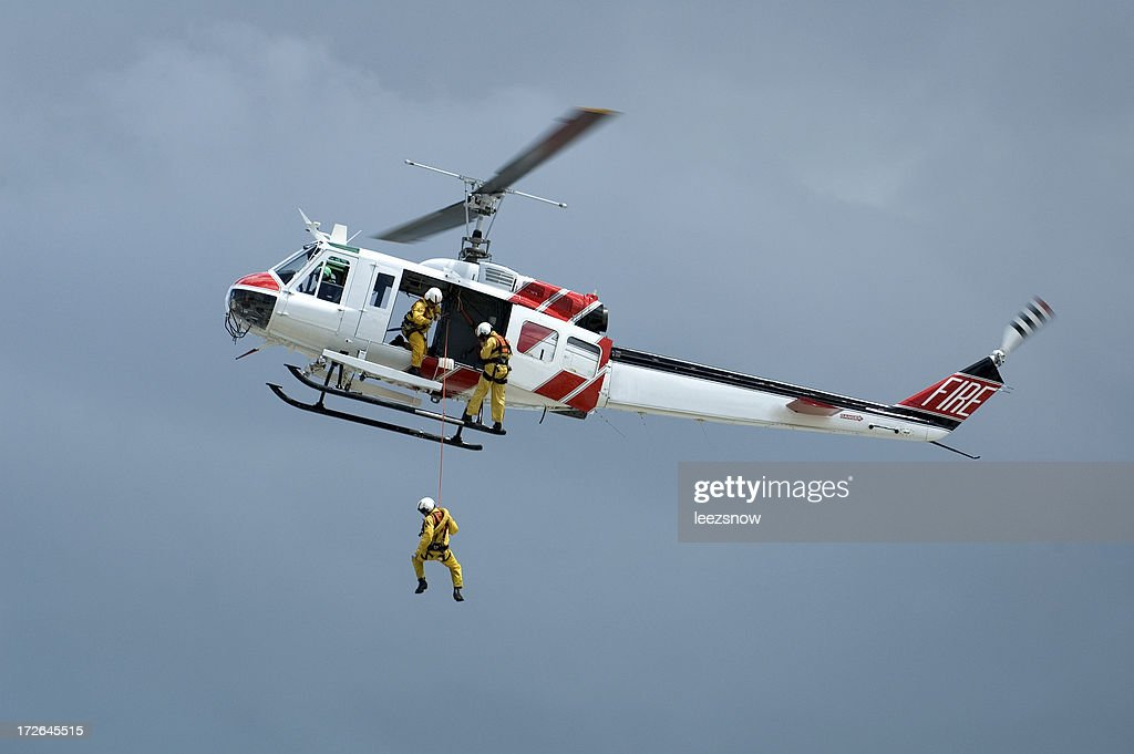 Helicopter Rescue Series : Stock Photo