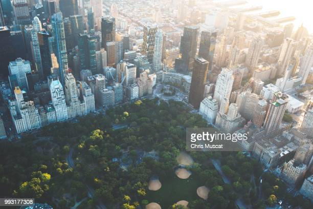 helicopter ride over manhattan - helicopter photos stock pictures, royalty-free photos & images