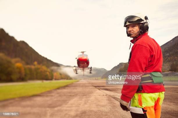Helicopter Worker