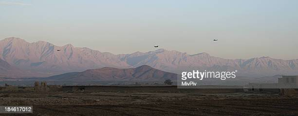 Helicopters in Afghanistan