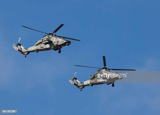 helicopters - military attack stock pictures, royalty-free photos & images