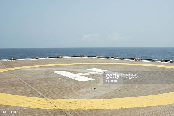 helideck - helipad stock photos and pictures