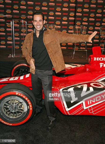 Helio Castroneves attends the Indy 500 100th Anniversary party at the Classic Car Club on March 23, 2011 in New York City.