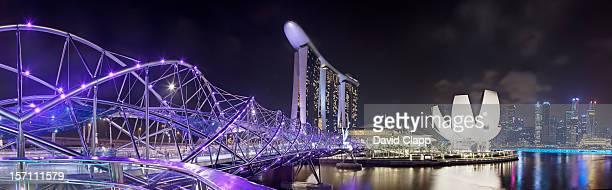 Helix Bridge, Marina Bay, Singapore