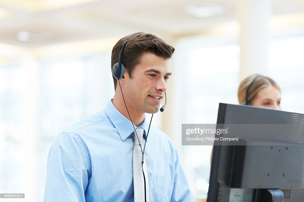 He'll find a solution for you : Stock Photo