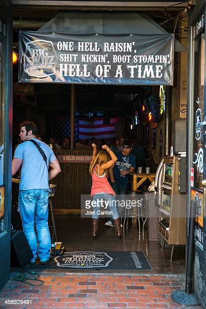 hell of a time dancing in nashville - tennessee stock photos and pictures