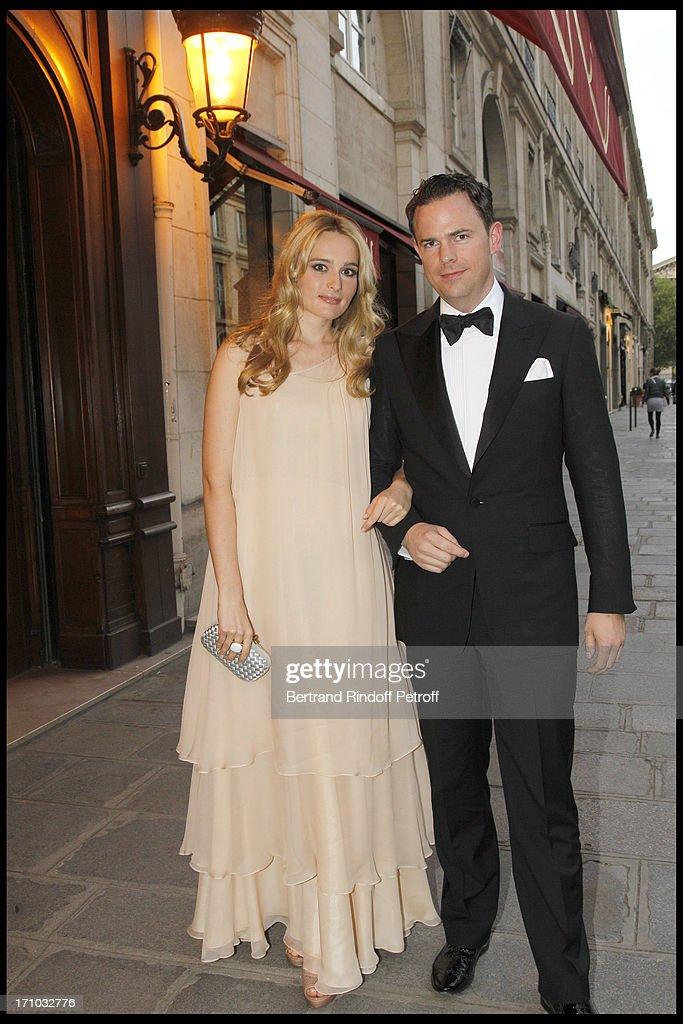 Gloria Von Thurn Und Taxis And Thaddaeus Ropac's Anniversary At Maxim'S In Paris : Nachrichtenfoto