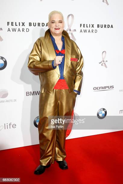 Hella von Sinnen attends the Felix Burda Award at Hotel Adlon on May 14, 2017 in Berlin, Germany.
