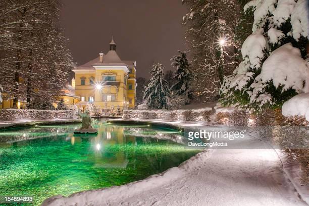 ヘルブルン宮殿の冬
