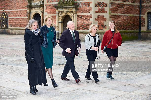 Helle ThorningSchmidt Neil Kinnock Glenys Kinnock and Johanna Kinnock attend the 'Jonathan Yeo Portraits' exhibition opening at the Museum of...