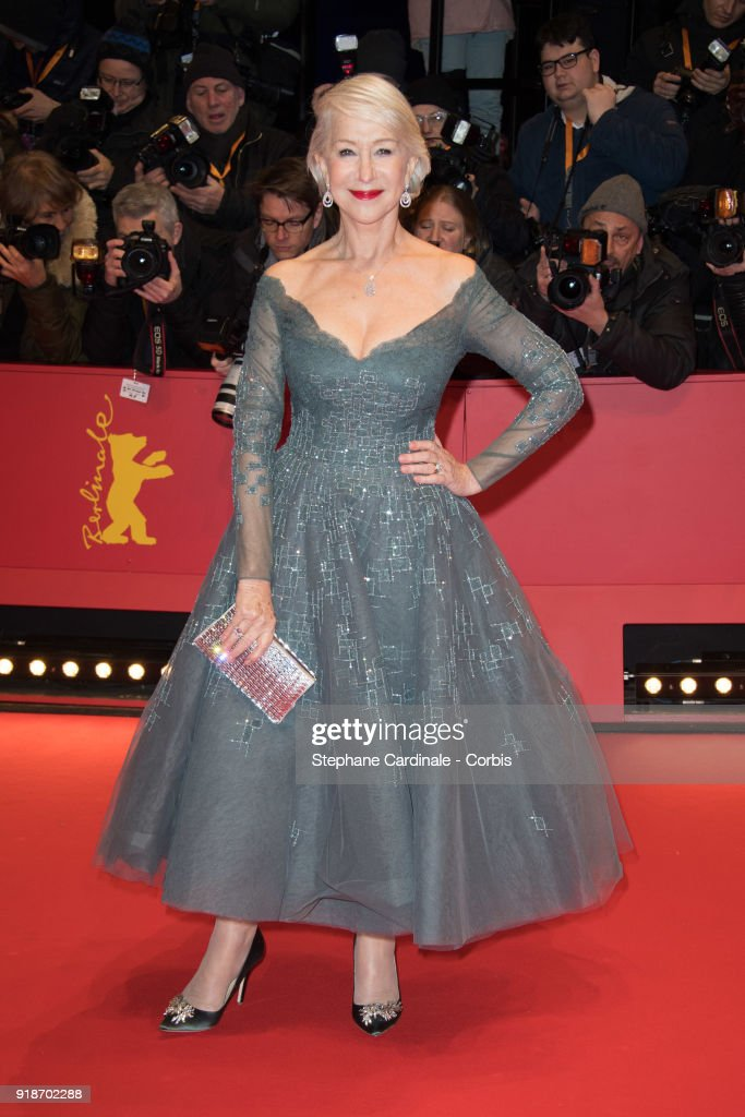Hellen Mirren attends the Opening Ceremony & 'Isle of Dogs' premiere during the 68th Berlinale International Film Festival Berlin at Berlinale Palace on February 15, 2018 in Berlin, Germany.