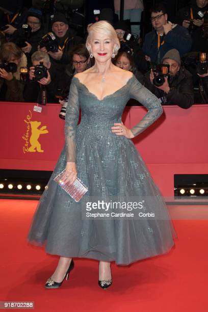 Hellen Mirren attends the Opening Ceremony 'Isle of Dogs' premiere during the 68th Berlinale International Film Festival Berlin at Berlinale Palace...