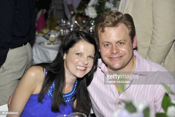 Hellen Stephan and Nicholas Stephan attend MIRACLE HOUSE 20th Anniversary Memorial Day Summer Kickoff Benefit honoring Amy Chanos and Jim Chanos at...
