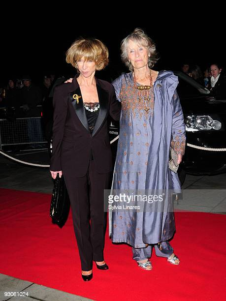 Hellen Worth and Virginia McKenna attend the Born Free Will and Live Concert held at The Royal Albert Hall on November 14 2009 in London England