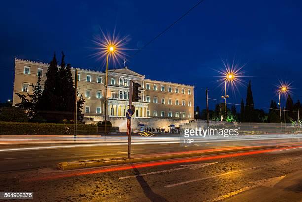 hellenic parliament - ギリシャ国会議事堂 ストックフォトと画像