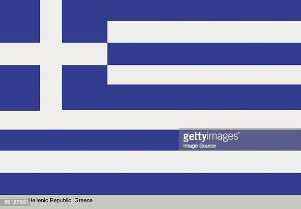 hellenic republic, greece - greek flag stock pictures, royalty-free photos & images