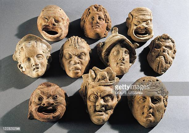 Hellenistic art 2nd century bC Theatre masks