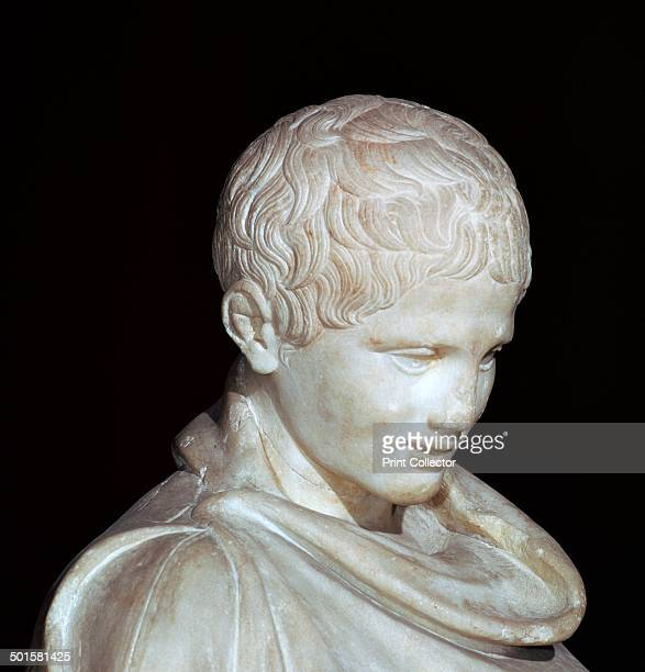Hellenistic marble statue of a young athlete from Aydin from Archaeological Museum's collection in Istanbul 1st century BC