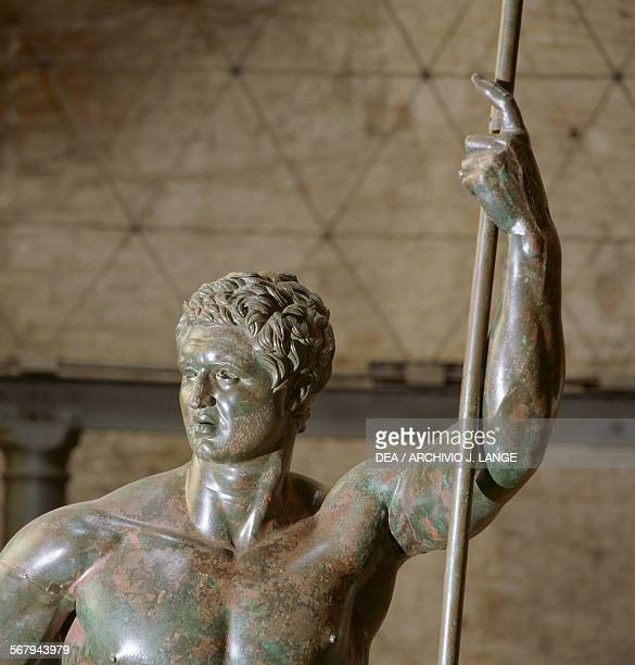 Hellenistic prince 180160 BC perhaps depicting Attalus II detail bronze sculpture height 204 cm from the Baths of Constantine Rome Italy Hellenistic...