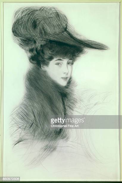 Helleu Paul Cesar Portrait of Consuelo Vanderbilt Duchess of Malborough Bayonne Bonnat Museum