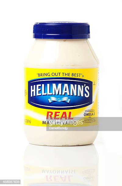 hellmann's real mayonnaise - mayonnaise stock pictures, royalty-free photos & images