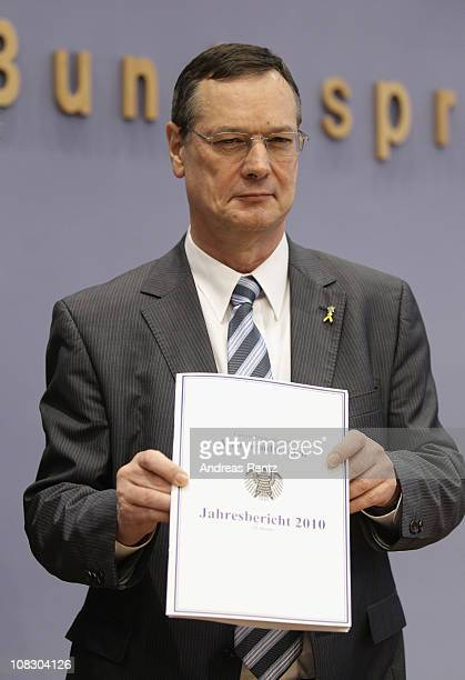 Hellmut Koenigshaus Bundestagappointed Commissioner for the Bundeswehr Germany's armed forces presents his annual assessment report on January 25...