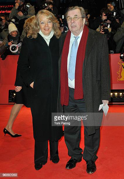 Hellmuth Karasek and wife Armgard attend the 'Tuan Yuan' Premiere during day one of the 60th Berlin International Film Festival at the Berlinale...