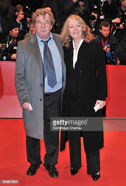 """Hellmuth Karasek and wife Armgard Seegers-Karasek attend the """"The International"""" premiere and Opening Ceremony during the 59th Berlin International..."""