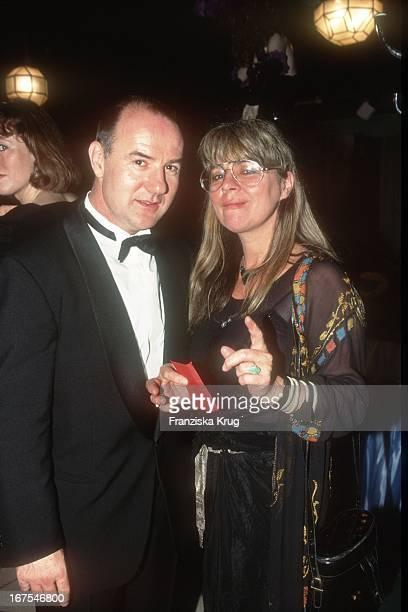 Hellmuth Matiasek Ehefrau Cornelia Froboess 1995 Bei Party Deutscher Filmpreis Im FriedrichstadtPalast In Berlin
