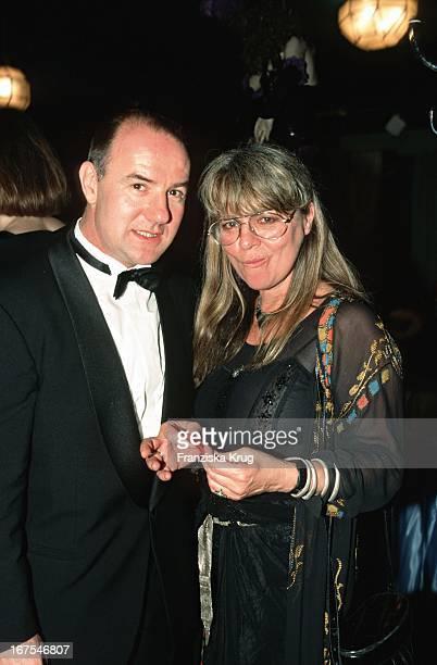 Hellmuth Matiasek Und Ehefrau Cornelia Froboess 1995 Bei Party Deutscher Filmpreis Im FriedrichstadtPalast In Berlin