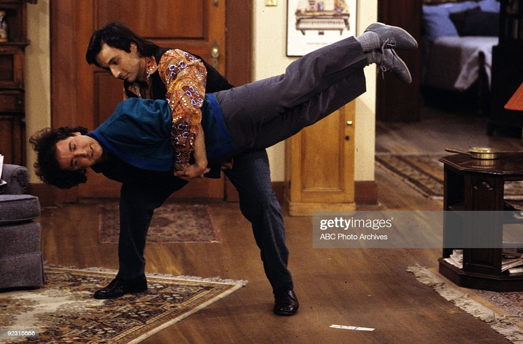 STRANGERS - 'Hello, Elaine' - Season Two - 4/1/87 Larry's (Mark Linn-Baker) sister wants to become a professional pianist instead of going to college. Bronson Pinchot (Balki) also stars. (Photo by ABC Photo Archives/ABC via Getty Images) MARK