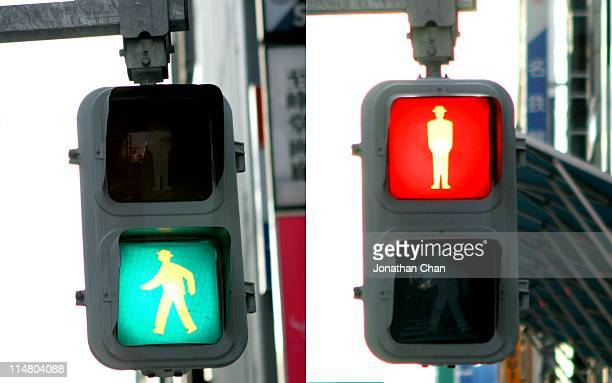 hello goodbye - road signal stock pictures, royalty-free photos & images