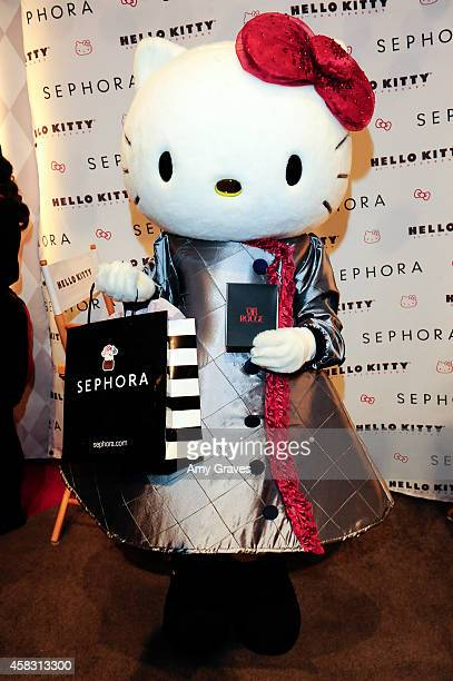 Hello Kitty attends Sephora's First Ever Hello Kitty Beauty Shop at Hello Kitty Con on November 2 2014 in Los Angeles California