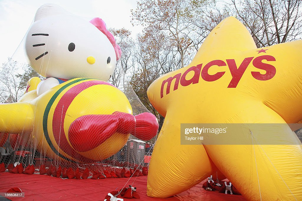 Hello Kitty attends the 86th Annual Macy's Thanksgiving Day Parade's 'Inflation Eve' on November 21, 2012 in New York City.