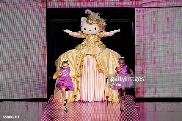 Hello Kitty Collection on the runway at Macy's Presents Fashion's Front Row at The Theater at Madison Square Garden on September 17 2015 in New York...