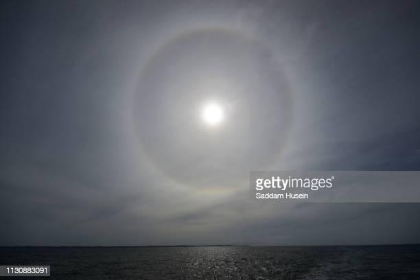 hello sun phenomenon - light natural phenomenon stock pictures, royalty-free photos & images