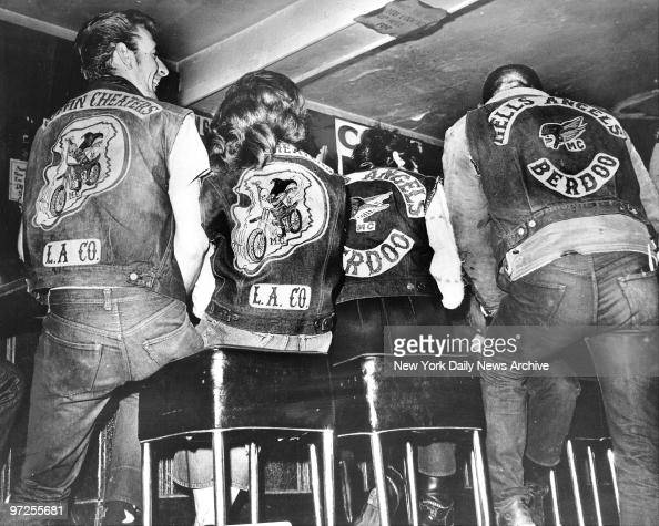 Hells Angels And Similar Cycling Group Called Coffin