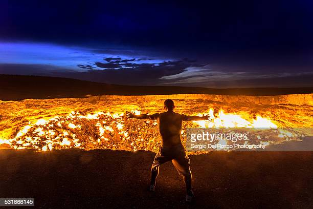 hell's gate - hell stock pictures, royalty-free photos & images