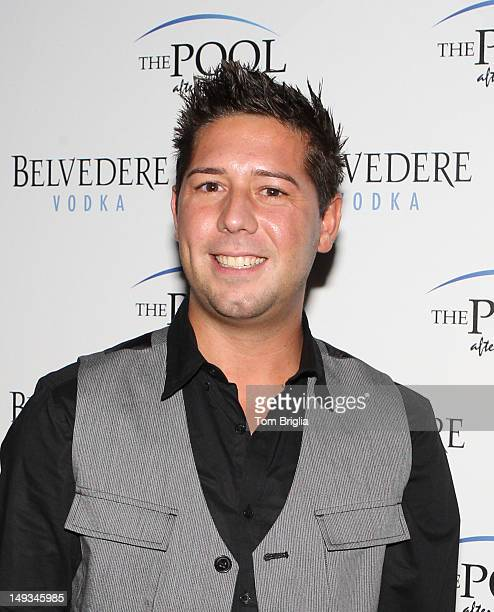 Hell's Kitchen Contestant Justin Antiorio attends the 2012 Atlantic City Food and Wine Festival's Poolside Launch Party held at The Pool After Dark...