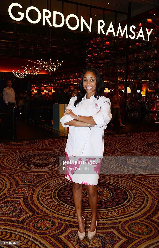 Hell S Kitchen Season 11 Winner Ja Nel Witt Poses For A