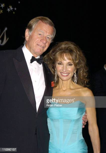 Helmet Huber and wife Susan Lucci during American Women in Radio Television 30th Annual Gracie Allen Awards at New York Marriot Marquis Hotel in New...
