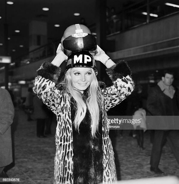 helmet pictured at Heathrow January 1970 7000007004
