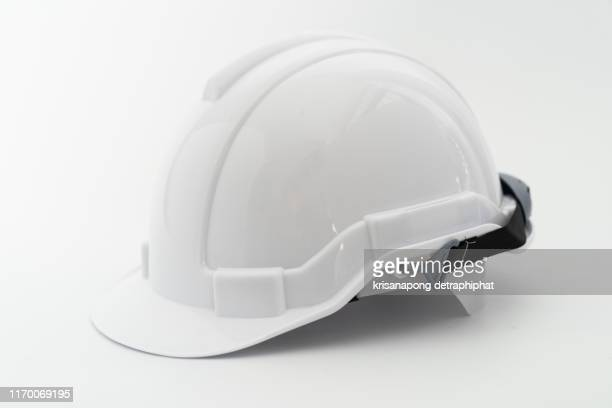 helmet, white background - - schutzhelm stock-fotos und bilder