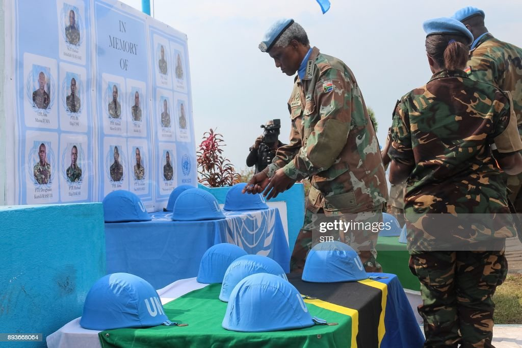 DRC-TANZANIA-UN-PEACE KEEPERS : News Photo