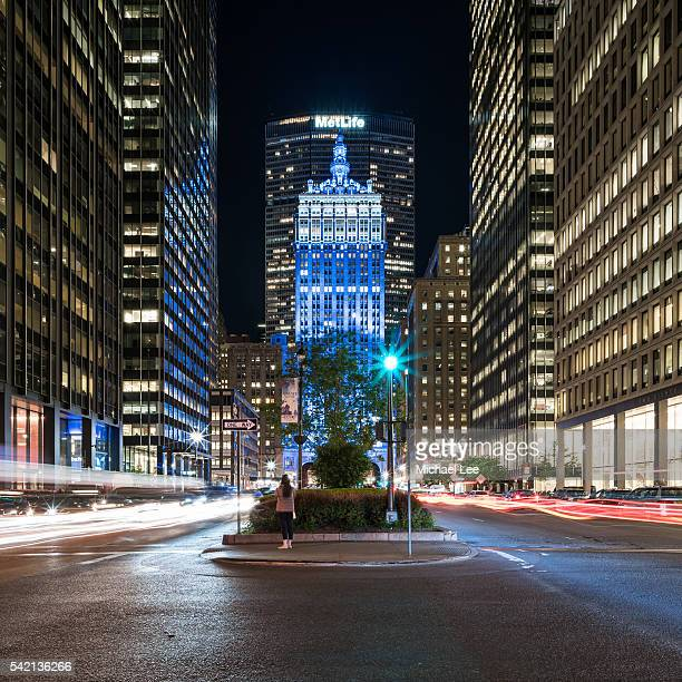 Helmsley Building at Night - New York
