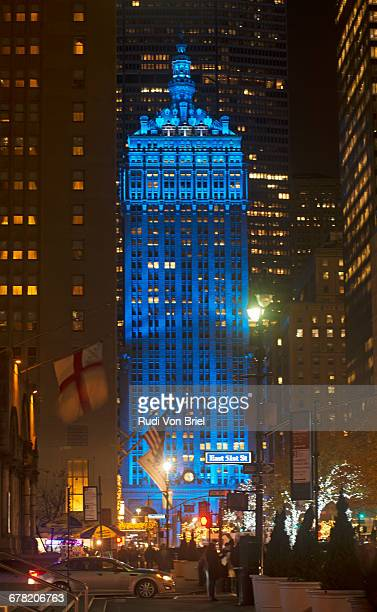 Helmsley Building on blue, Park Ave. NYC.