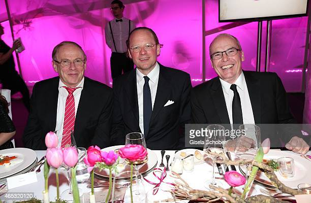 Helmut Baurecht, CEO of Artdeco Cosmetic, dircetor Artdeco Cosmetic , Moritz von Laffert, Publisher Conde Nast Germany, Stephan Seidel-Jarleton,...