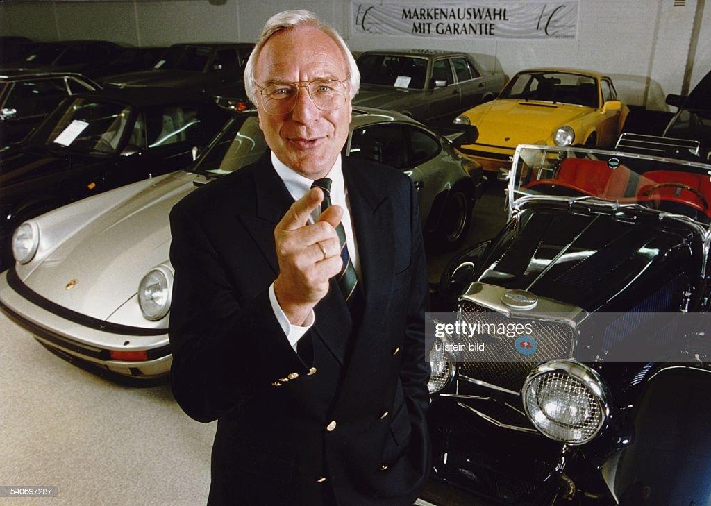 Becker, Helmut / Autohaus-Besitzer : Foto di attualità