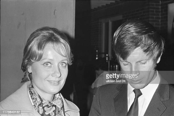 Helmut Benthaus und Ehefrau in Basel 1970
